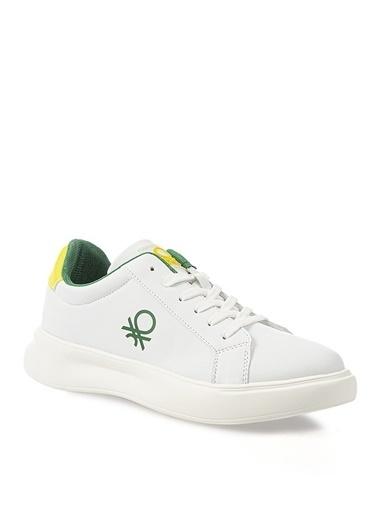 Benetton Benetton Beyaz Sneaker Beyaz